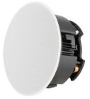 In-Ceiling Speaker, 9-3/4 in. Dia x 3-3/4 in. D, 100W, 89dB at 1m, 48 Hz to 20 kHz