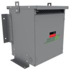Standard Isolation Transformer, 112.5 KVA, 600V Primary, 208Y/120V Secondary, 3 Ph