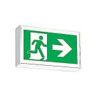 Exit Sign, Pictogram, Self-Powered, Single Face