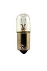 Airport Incandescent Bulb, 3W, T-3 1/4 Bulb, Miniature Bayone(BA9s) Base, 10000 hrs