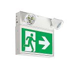 Emergency Light and Exit Sign Steel