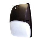 Wall Light, LED Lamp, 120V, 30W, Polycarbonate Housing, Bronze
