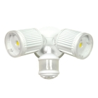 Floodlight, LED, 28W, Die Cast Aluminum, Wall/Ceiling Mount, White