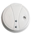 Photoelectric Smoke Alarm, 120V w/Battery Backup, 85dB Horn, Test Button, Photoelectric