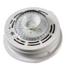 Strobe Light, Wall or Ceiling Mount Mounting, 120VAC, 630 mA, LED, 177 Candela, 60 fpm