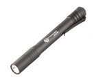 LED Pen Light, AAA Battery, 2 Cells, LED, Aluminum, Black Body, White LED
