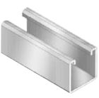 Metal Framing Channel Steel/Aluminum 10-ft Pre-Galvanized
