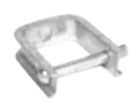 Clevis, Steel, (1) 11/16 in. Hole Clevis Mounting