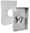 Meter Socket, 1PH, 600VAC, 200A, 4 Jaws, 18.00x12.00x5.38 in.