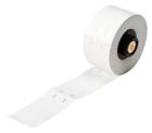 Cable Marker Label, 0.750 in. W x 3.000 in. L Label, Polyethylene, White