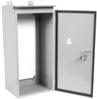 Metering Cabinet, Single Door, 20 in. H x 20 in. W x 10 in. D, Front Opening