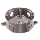 Weatherproof Round Outlet Box Die Cast Aluminum