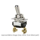 Bat-Handle Toggle Switch SPST On-Off maintained 10A/125Vac 4A/250Vac 8A/125Vdc 4A/250Vdc